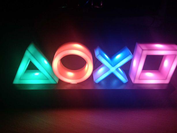 PlayStation luzes led