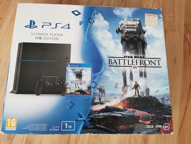 Sony Play Station 4 1TB /PS4/ + 7 gier + plus gratisy