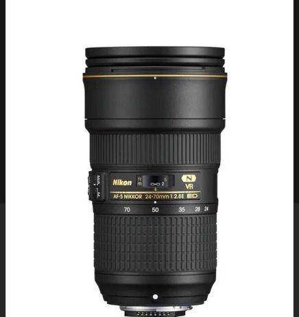 Nikon AF-S Nikkor 24-70mm f/2,8E ED VR