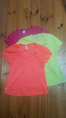 3 bluzki sportowe Kalenji