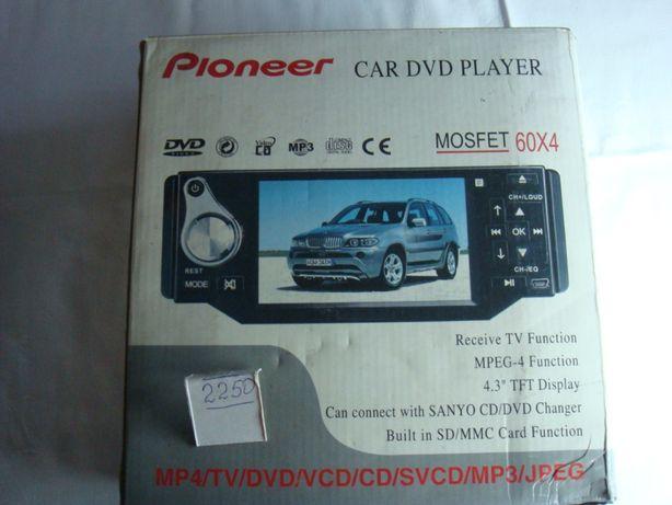 Магнитола USB,блютуз, CD и кассетная. Новая!!!Pioneer,Nokasonic!