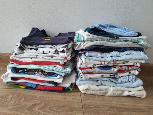 Mega paka ubrań dla chłopaka 35 szt rozmiar 68