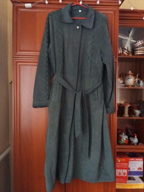 Весений плащ женский размер 52 54 Пальто на весну