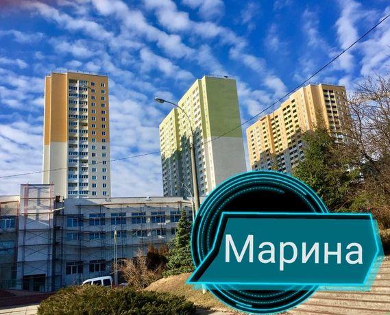 Видовая 2к с ремонтом,-ЖК Ярославичи-2, Кургузова 11В (дом2). Без %!