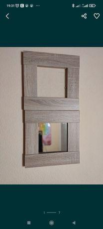 Зеркало в декорированной рамке