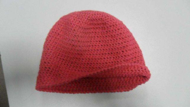 шапка 100% шерсть ручная работа
