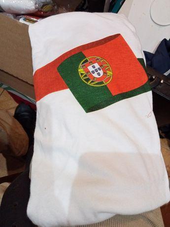 Camisolas de Portugal + bandeira grande tudo novo