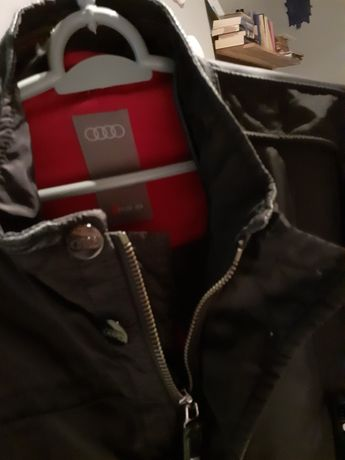 Kurtka Męska  Audi RS6 r. L używana parę razy,  kolor Czarny
