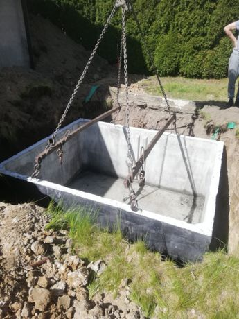szamba betonowe szambo zbiornik Hajnówka
