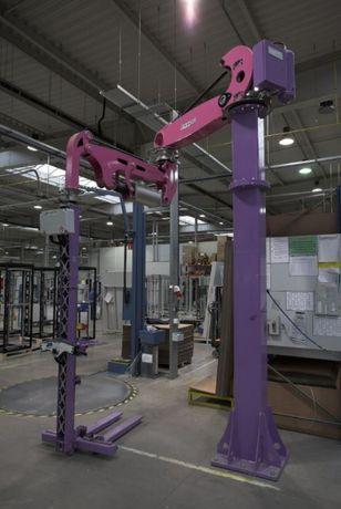 Manipulator pneumatyczny FAMATEC rok prod. 2013. Udźwig 200 kg, wysoko