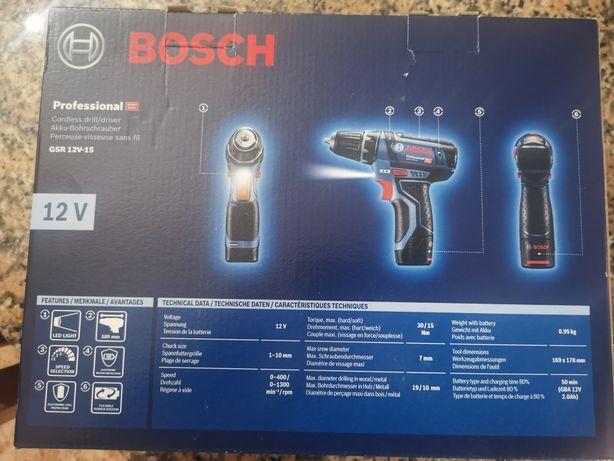 Aparafusadora Bosch Gsr 12v-15