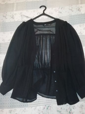 Blusa Preta Zara