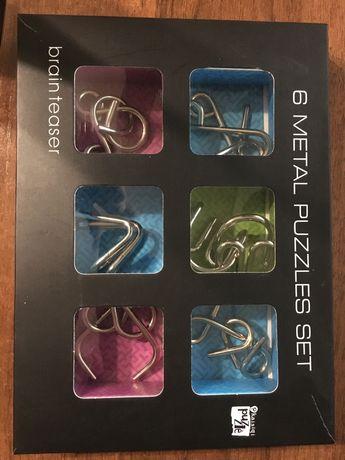 Головоломка 6 metal puzzle set