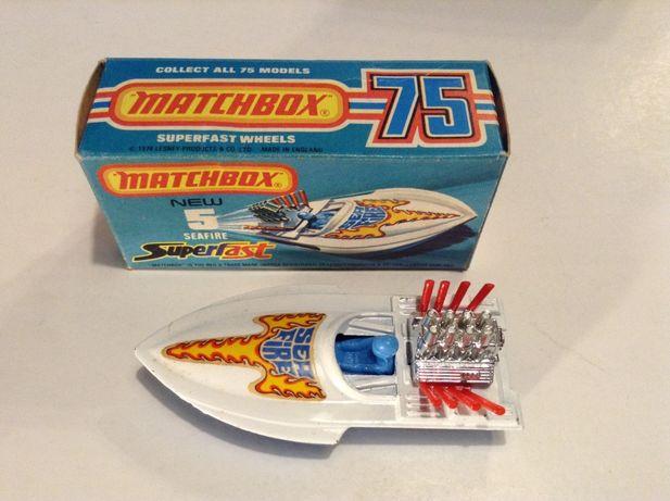 Matchbox Superfast GUILDSMAN nº 40 - SEAFIRE nº 5 - carros com caixa