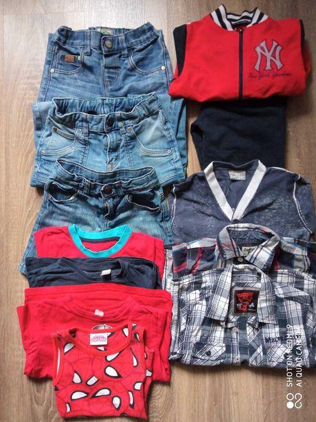 Пакет одежды мальчику 3-4 года.