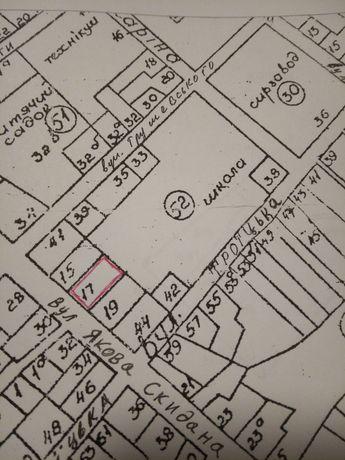 Продам земельну ділянку 0,07 га.