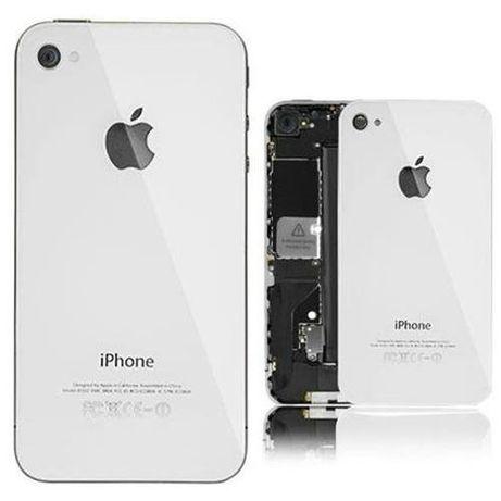 R020 Capa Original Iphone 4 Branco + 2 Parafusos + Chave NOVO