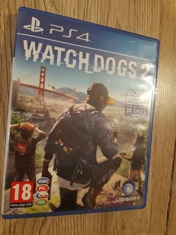 Gra Watch Dogs 2 na PS4