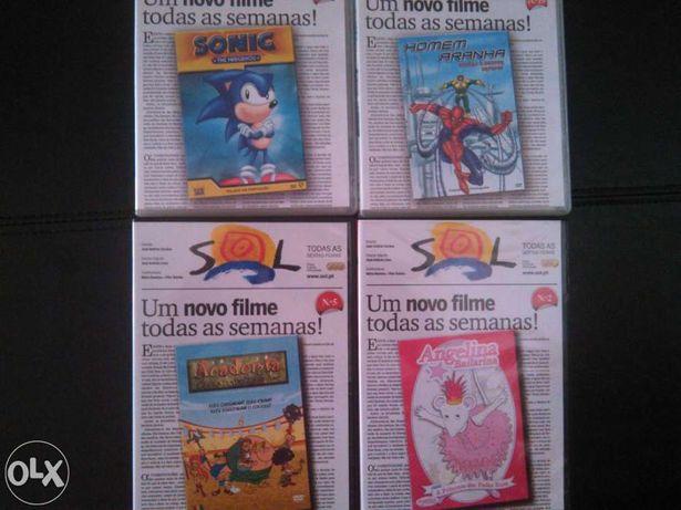 4 DVD histórias infantis