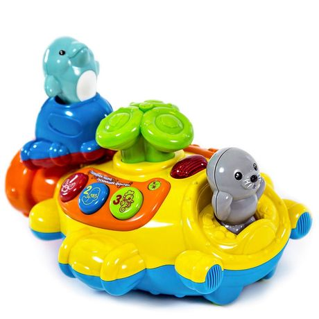 Подводная лодка песня мамонтенка Vtech