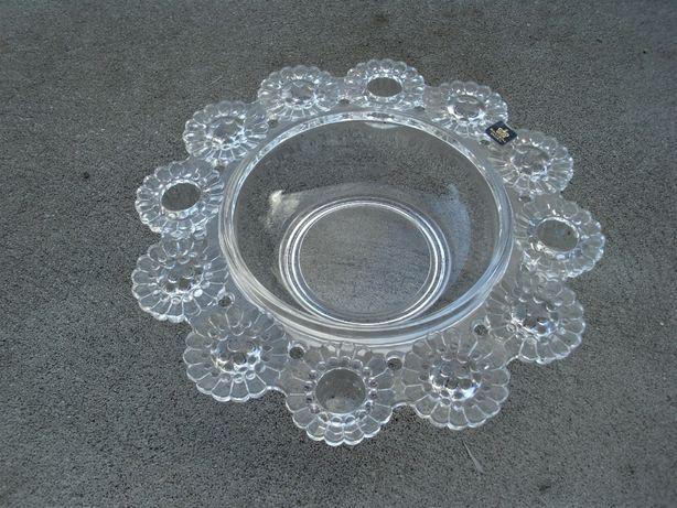 świecznik Royal Krona szkło