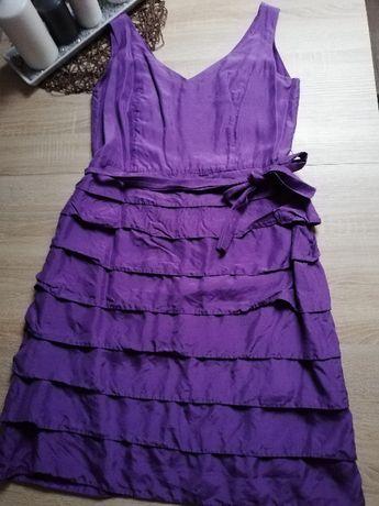 Fioletowa sukienka Monnari