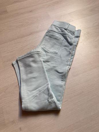 Tregginsy H&M leginsy spodnie dla dziewczynki r. 116