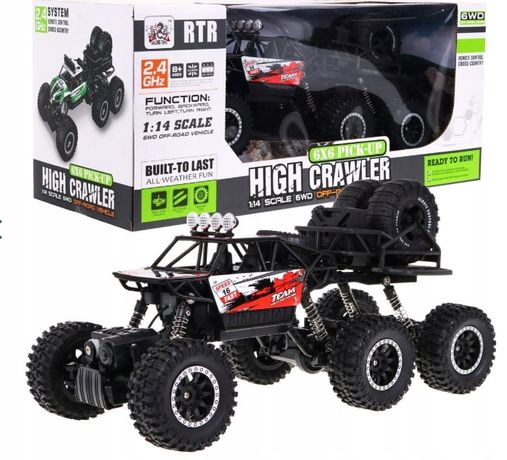 Zdalnie sterowane Auto 1:14 Crawler 6x6 R/C 2.4G SL-183A