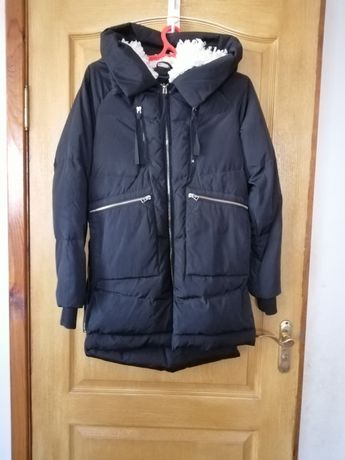 Куртка пуховик тёплая