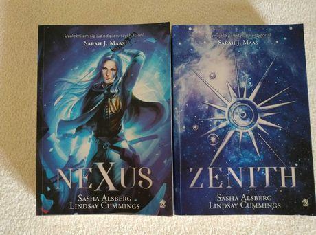 Zenith i Nexus, książki science fiction dla młodzieży