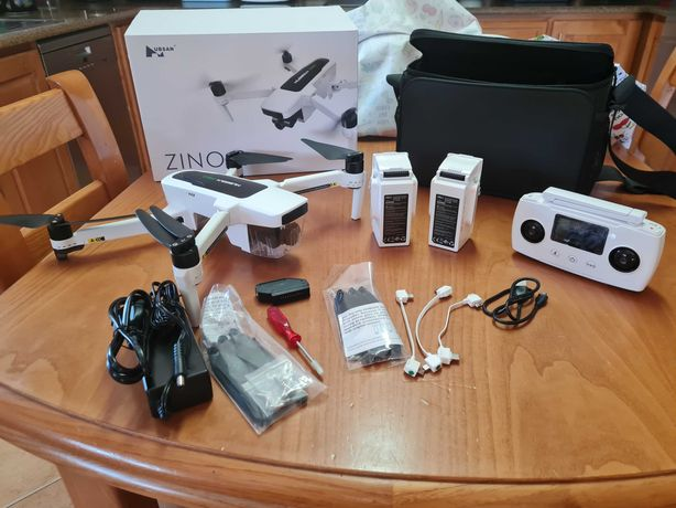 Drone Hubsan Zino 2 Combo Pack com GPS