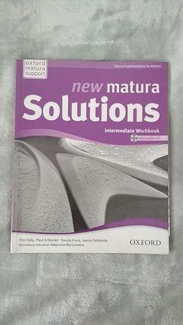 """Zeszyt ćwiczeń """"New Matura Solutions Intermediate Workbook"""""""