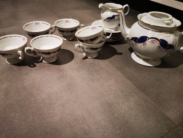 Zestaw kawowy porcelana