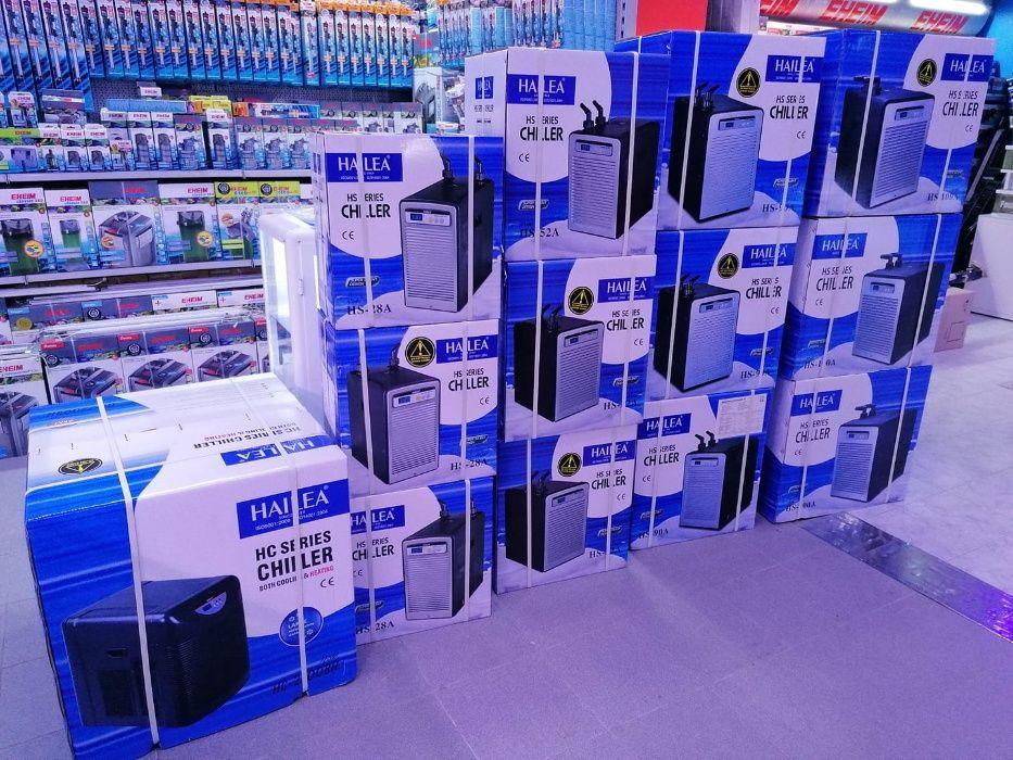 Refrigerador HAILEA aquario 600L novo agua doce e salgada