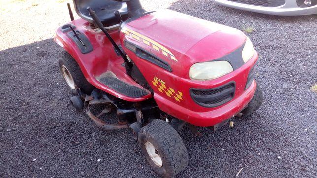 Traktorek kosiarka Husqvarna silnik 18.5 HP. Z pompą oleju.