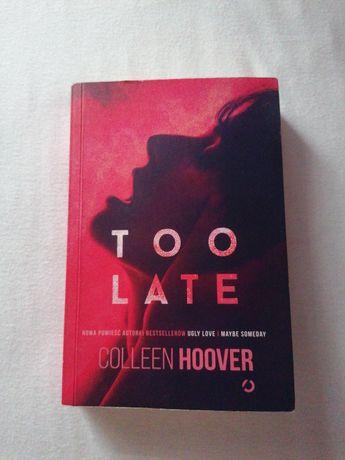 Too late książka
