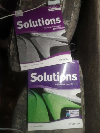 Solutions Intermediate Student's Book and Workbook