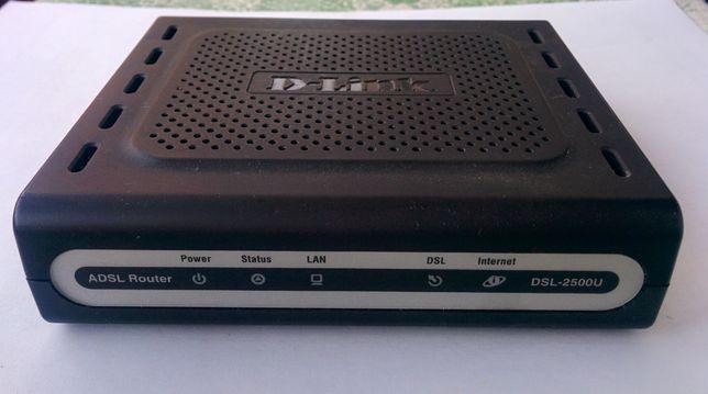Маршрутизатор (ADSL-модем) D-Link DSL-2500U