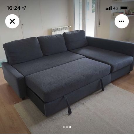 Sofa cama cheese long ikea