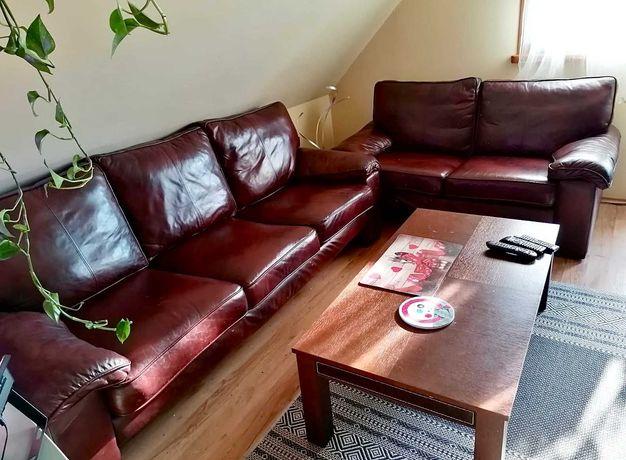 Komplet wypoczynkowy kanapa 3 osobowa+kanapa 2 osobowa