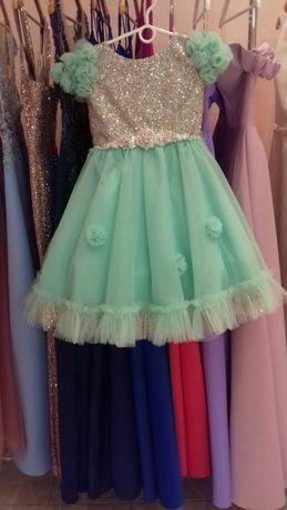 НАРЯДНОЕ ВЕЛИКОЛЕПНОЕ НОВОЕ платье на девочку 6 лет