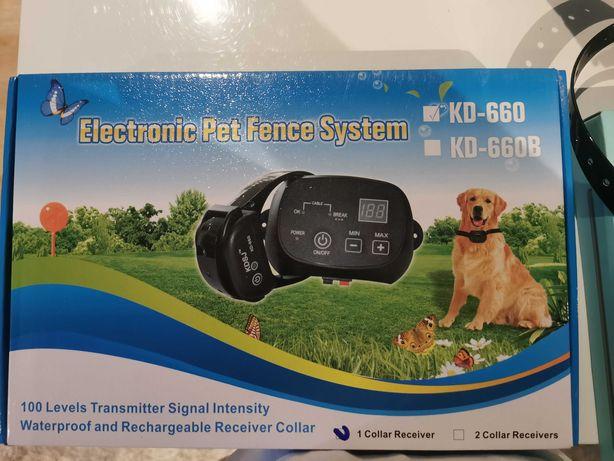 Elektryczny kojec dla psa