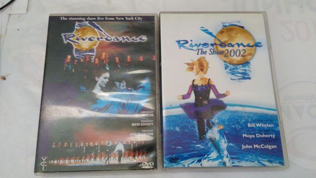 DVDs RIVERDANCE 2002 + 1996 - Vendidos em Separado - ENTREGA IMEDIATA