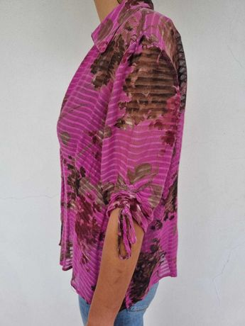 Blusa rosa vintage