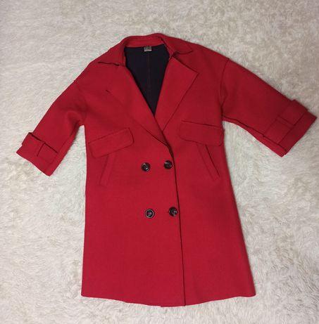 Пальто шерстяное, размер указан 175/96А