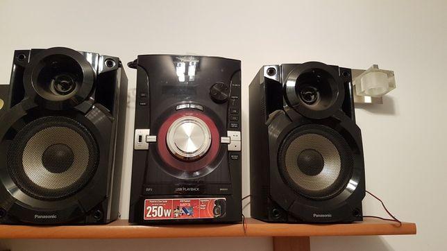 Wieża audio Panasonic SA-AKX14 250W