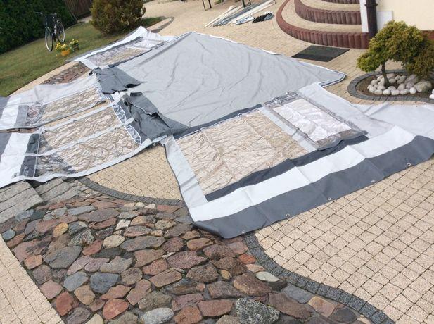 Przedsionek,namiot hobby do przyczepy kempingowej 5m