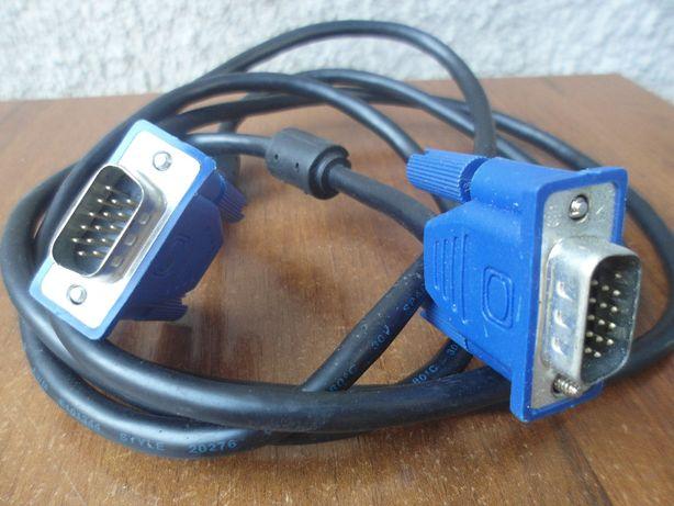 Кабель VGA вилка-вилка