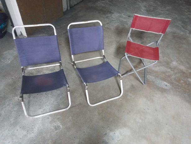 Vendo 3 cadeiras de praia