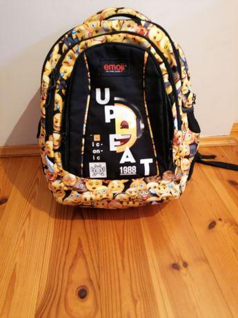 Plecak szkolny emoji